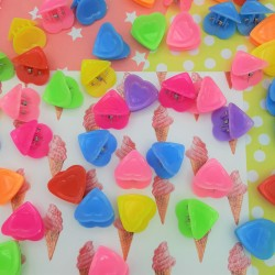Mini Rainbow Hearts...