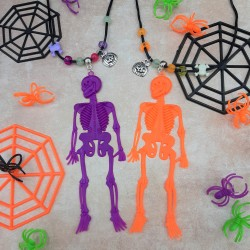Halloween Skeleton Necklace