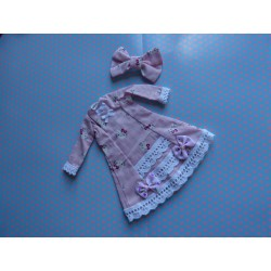 "Robe + Barrette ""Hello Kitty"""