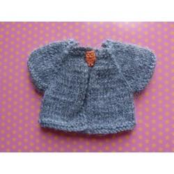 Pull crochet Animator gris