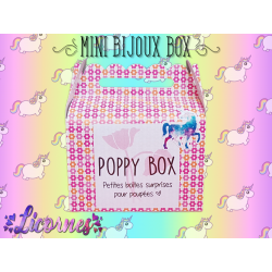 Mini Bijoux Box Licornes