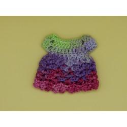 Crochet Pullip multicolor...