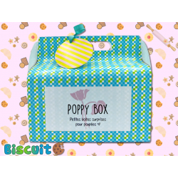 Poppy Box Biscuit