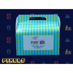 "Poppy Box ""Pixels"""