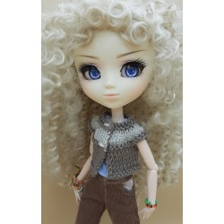 Crochet Pullip waistcoat