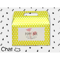 "Poppy Box ""Chat"""