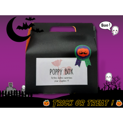 "Poppy Box ""Trick Or Treats""..."