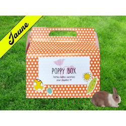 """Poppy Box """"Lapins"""" Jaune"""